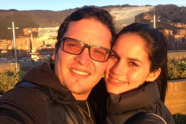Diego Pulecio y Linda Palma