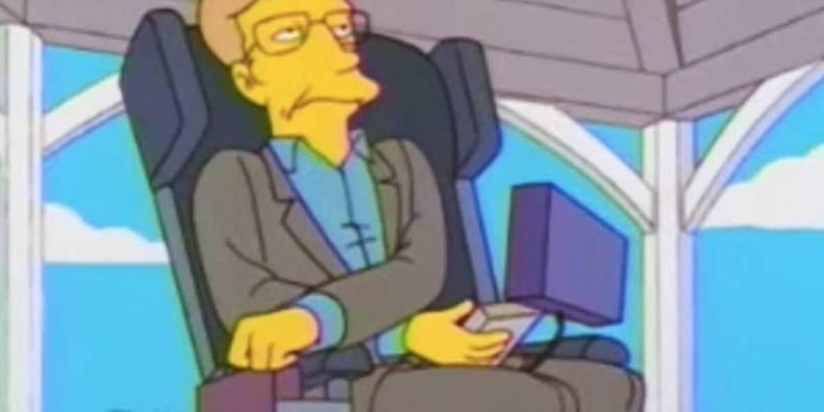 La figura de Stephen Hawking en la cultura popular