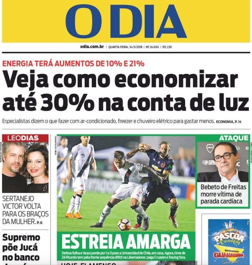 Las portadas de Brasil
