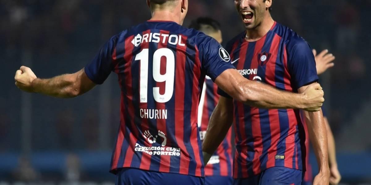 Diego Churín fue el héroe en la agónica victoria de Cerro Porteño por Copa Libertadores