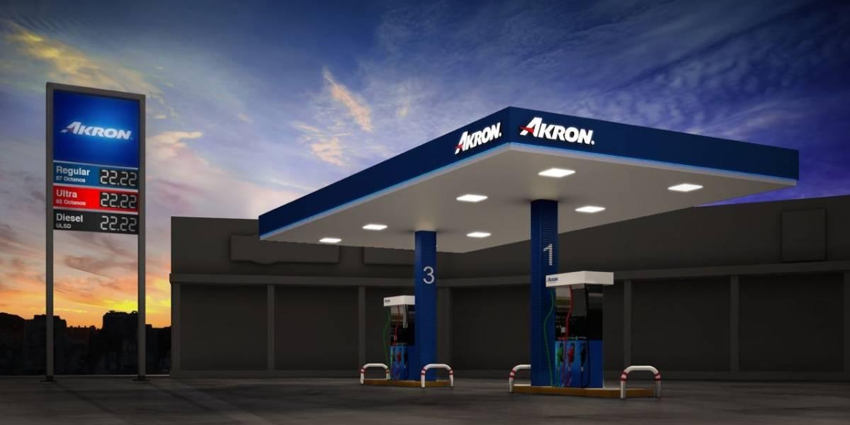 Nace la primera de 600 gasolineras Akron