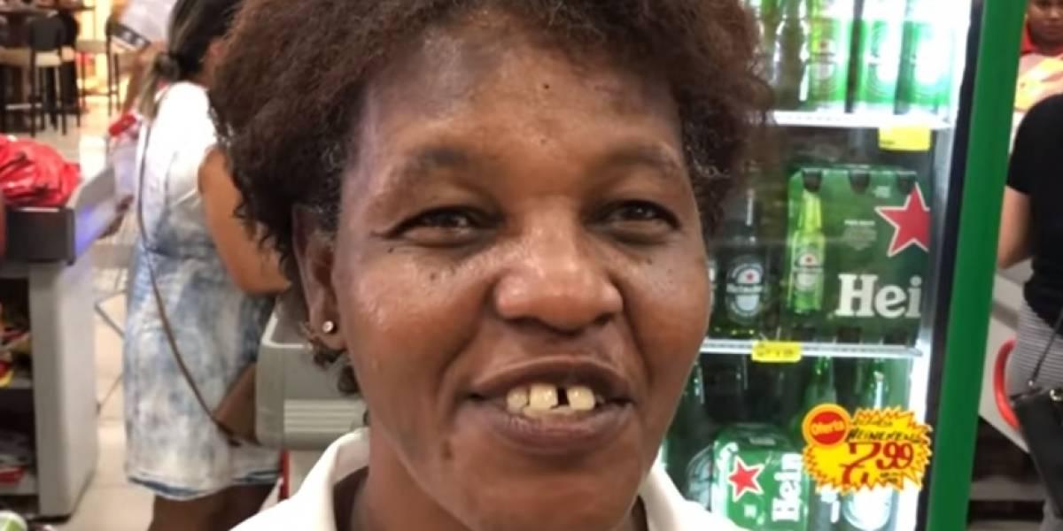 Mulher comemora após marido morrer em acidente: 'não apanho mais dele'