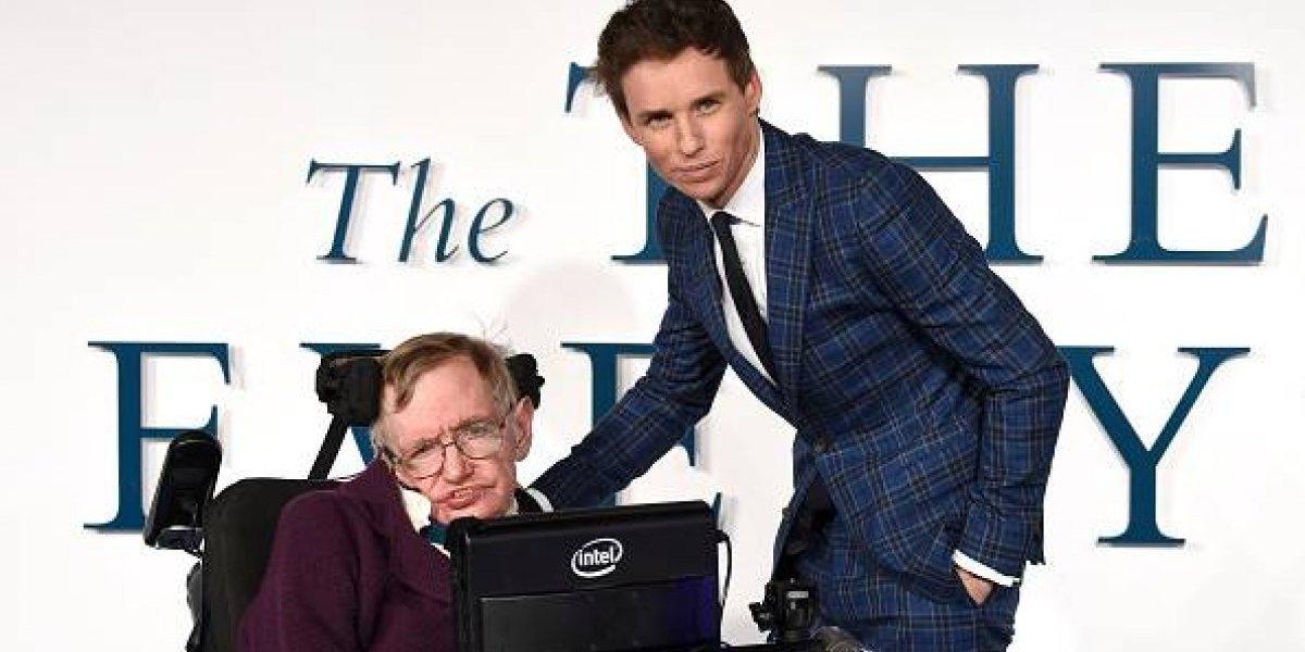"""El emotivo adiós de Eddie Redmayne, el actor que interpretó a Stephen Hawking en """"La Teoría del Todo"""""""
