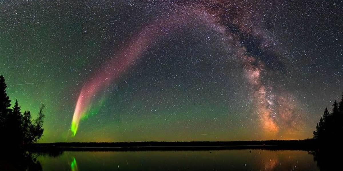 Mistério de luzes roxas no céu é resolvido com ajuda de cidadãos