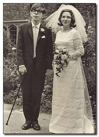 Stephen Hawking y Jane Wild
