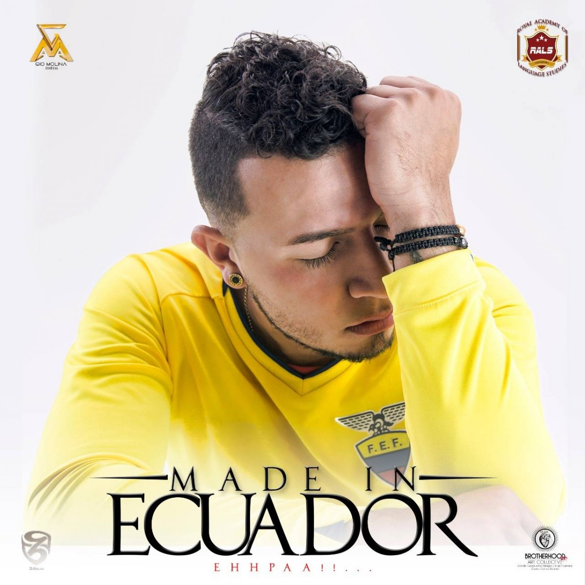 Gio Molina 'Gio' Molina presenta su nuevo tema Made in Ecuador