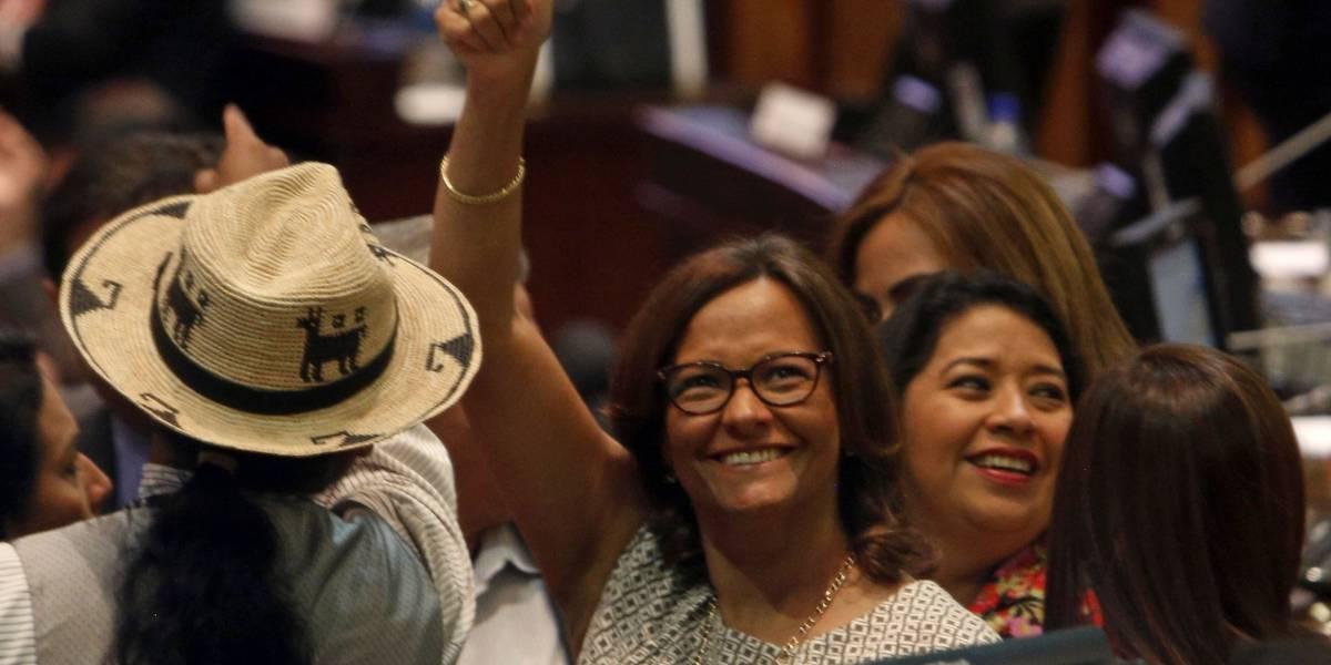 Elizabeth Cabezas es la nueva presidenta de la Asamblea Nacional