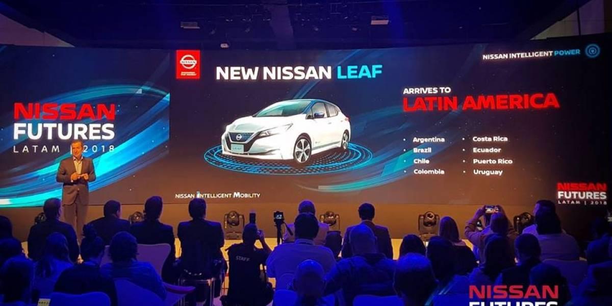Nissan anuncia el arribo definitivo del Leaf a Chile y Latinoamérica