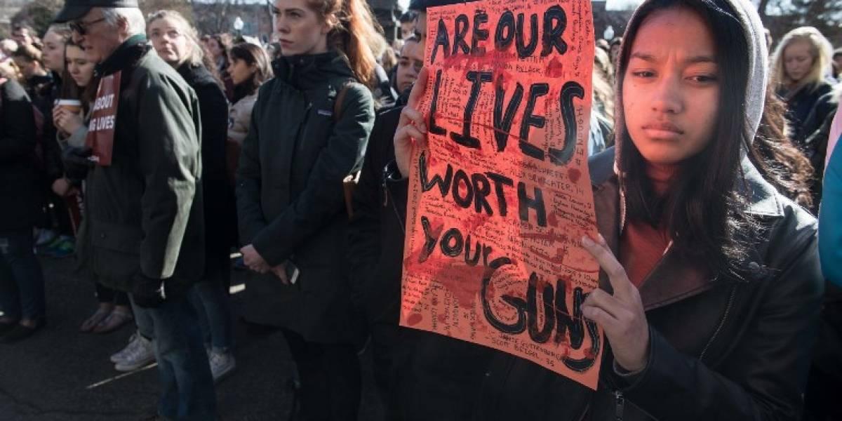 FOTOS. Estudiantes se movilizan contra las armas en Estados Unidos