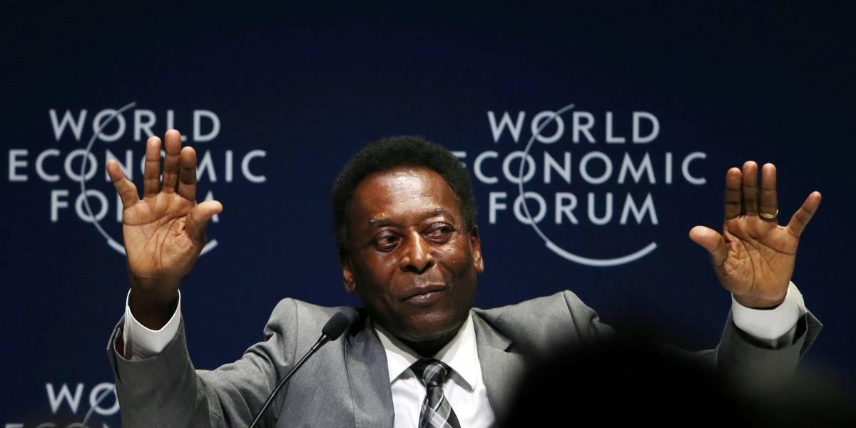 Com problemas de saúde, Pelé fica de fora de celebrações da Copa América