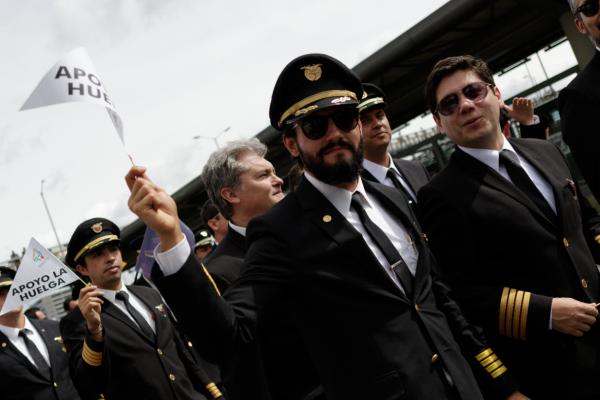 Pilotos Avianca