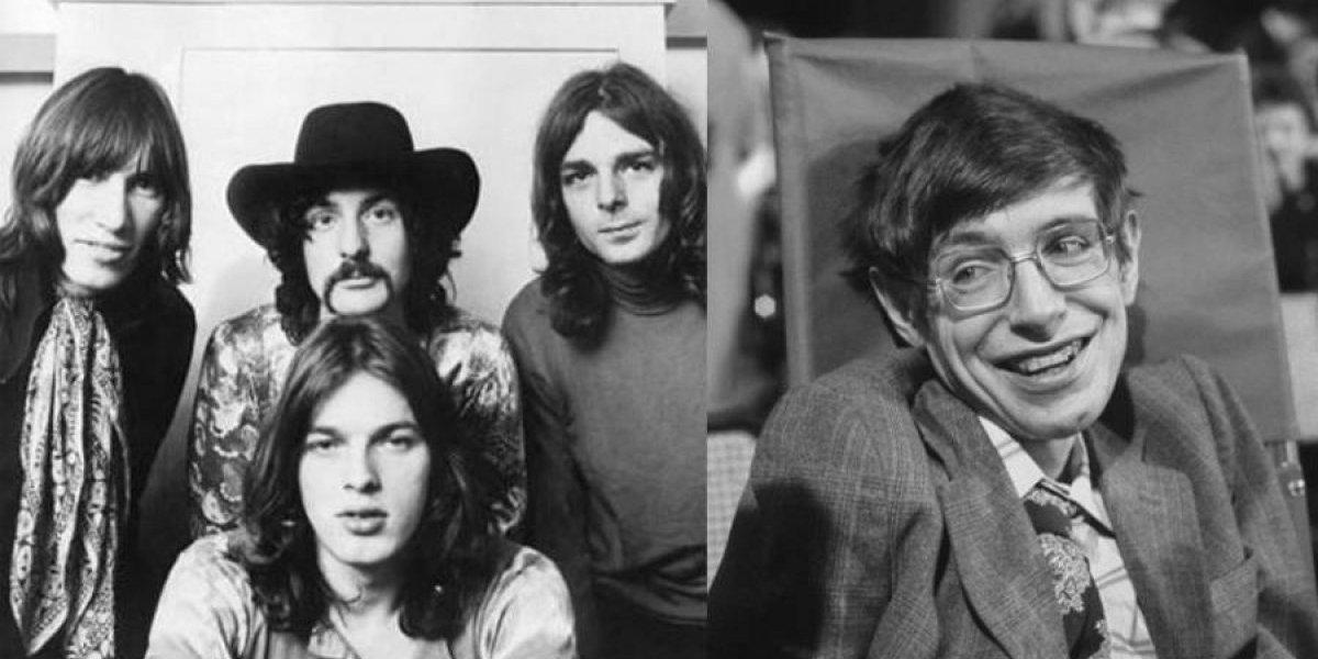 Las dos canciones que Stephen Hawking grabó con Pink Floyd