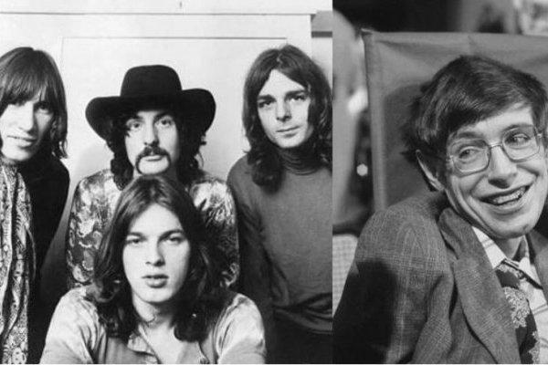Stephen Hawking y Pink Floyd