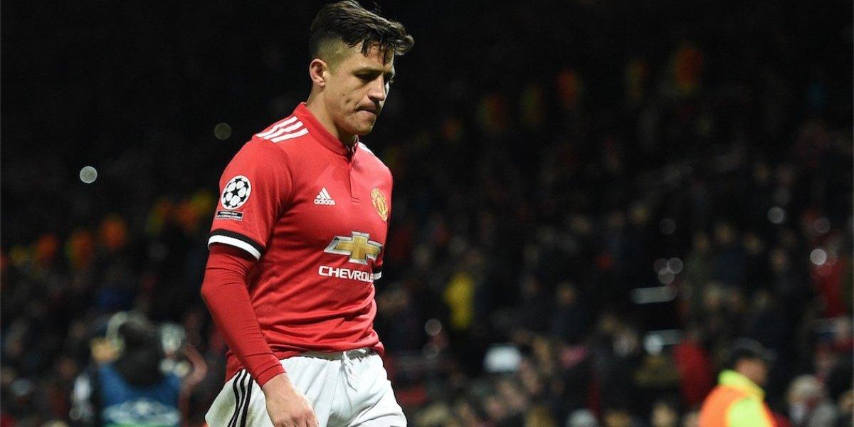 Alexis Sánchez recibe críticas crueles tras la eliminación del United en la Champions