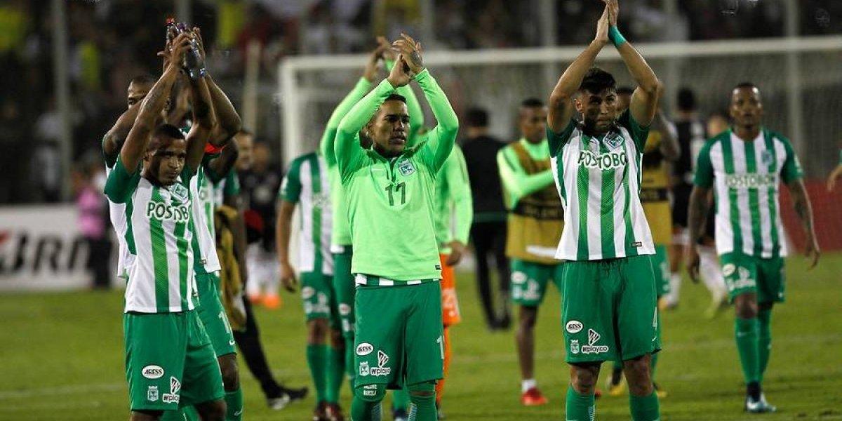 Atlético Nacional barrió a Delfín y es el cómodo líder del grupo de Colo Colo en la Libertadores