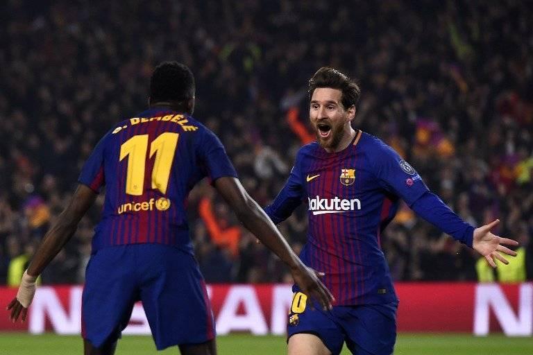 Gol de Ousmane Dembélé contra el Chelsea