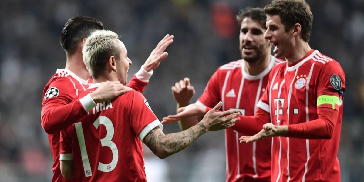 El Bayern Munich avanza sin complicaciones a los cuartos de final