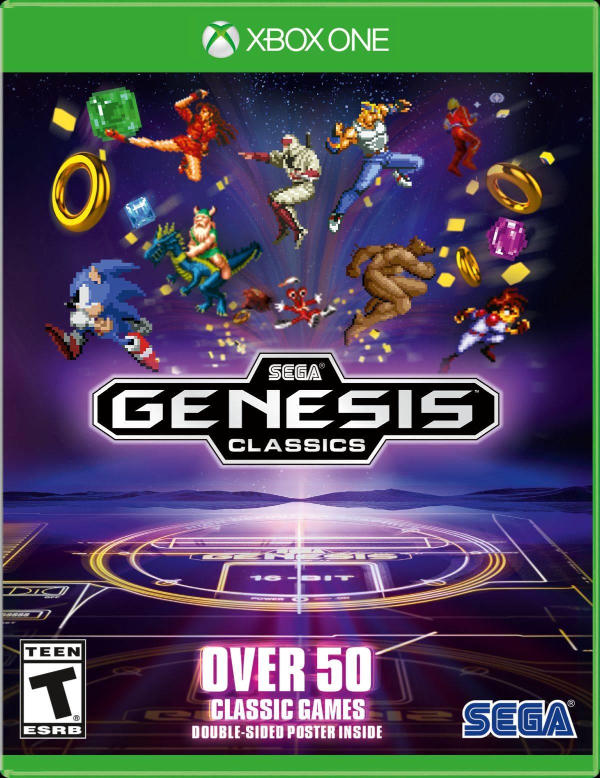 Sega Genesis Classics Incluira Mas De 50 Juegos Clasicos Con