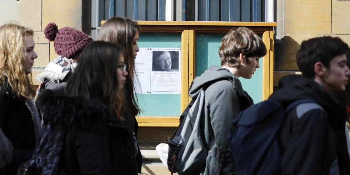 FOTOS. La Universidad de Cambridge despide a Stephen Hawking