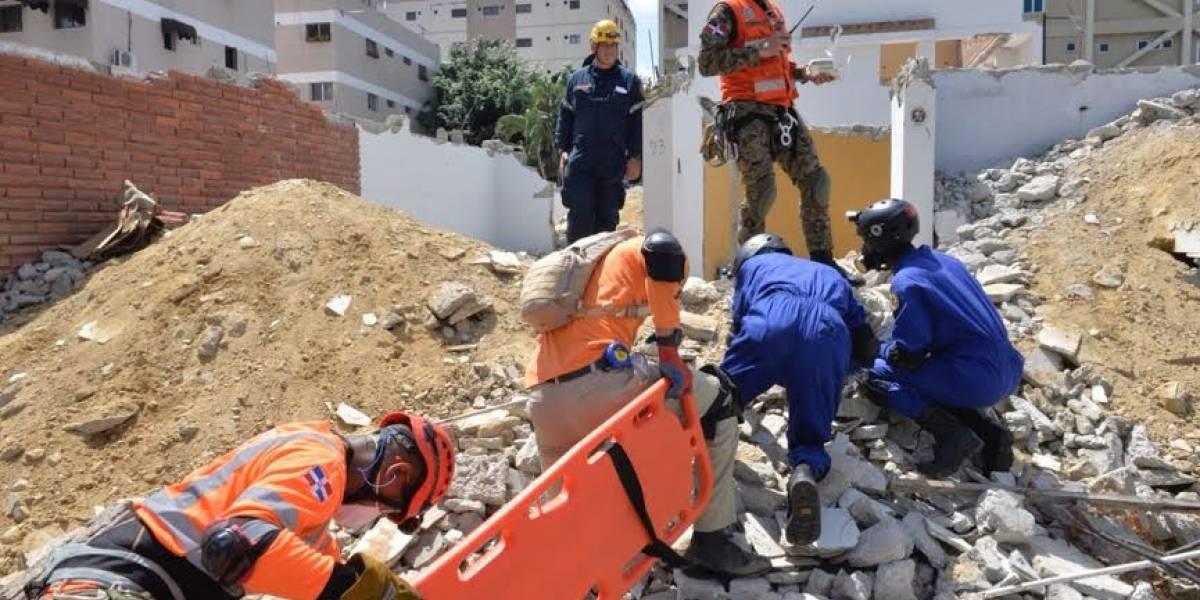 Autoridades realizan simulacro de terremoto simultáneo en Santiago y Puerto Plata