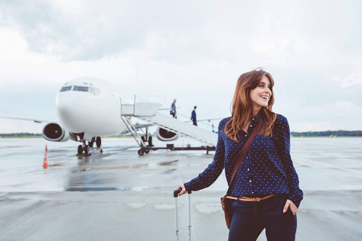 Ciajera en aeropuerto