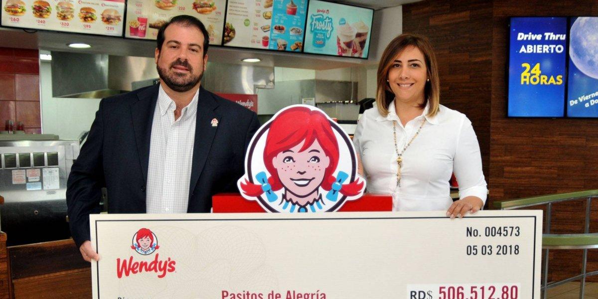 #TeVimosEn: Wendy's entrega donativo a fundación 'Pasitos de Alegría'