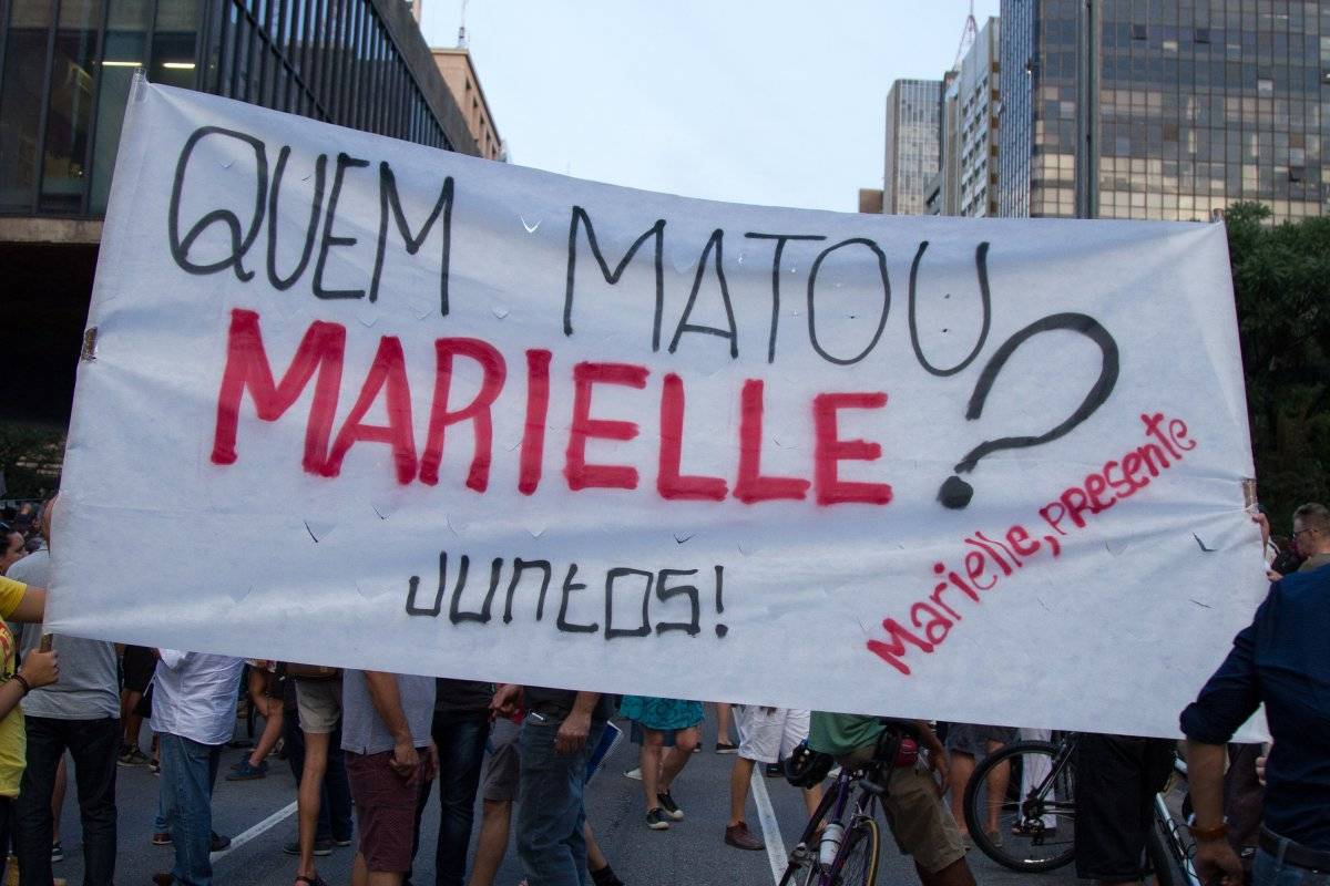 Protesto Marielle SP