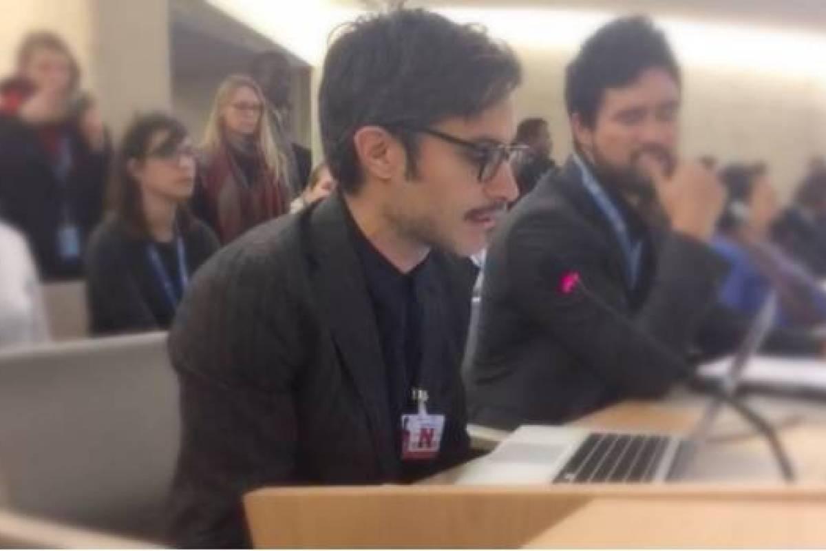 Gael García pide a la ONU atender la violencia en México