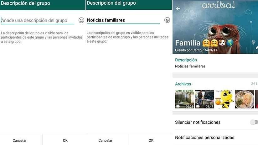 WhatsApp agrega nueva opción para chats grupales