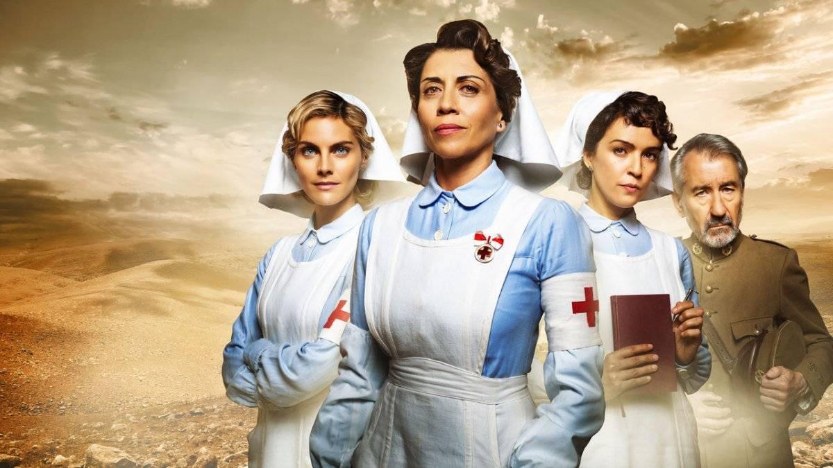 """""""Tempos de Guerra"""". Ambientada década de 1920, a história mostra três enfermeiras voluntárias inexperientes que começam a trabalhar na Guerra do Rife, ocorrida na cidade espanhola de Melilla / Reprodução"""