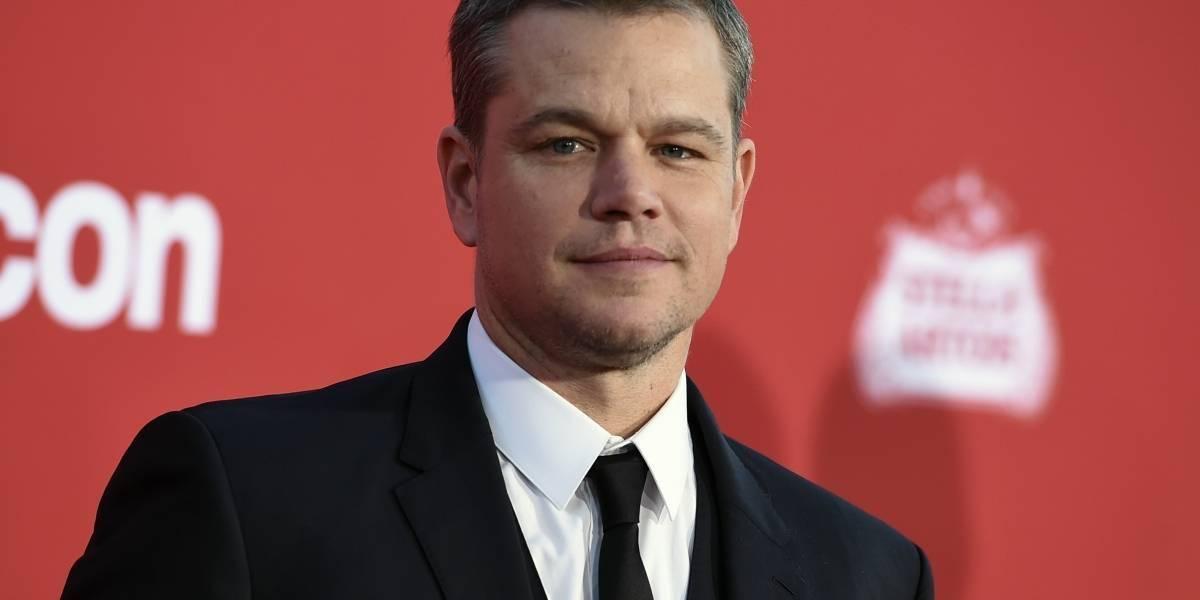 Matt Damon está harto de Trump