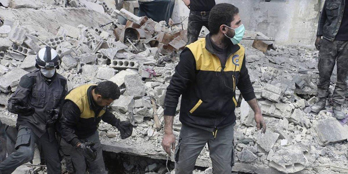 Sangriento y devastador: Siete años de sufrimiento del conflicto en Siria