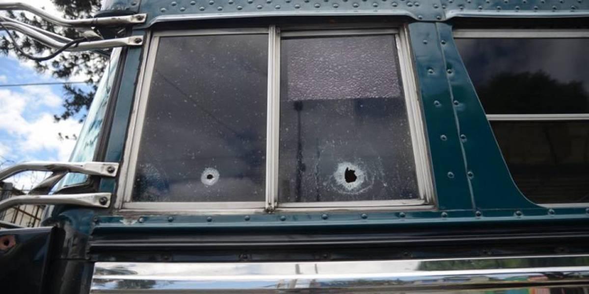 Pandilleros exigen bono de verano a transportistas de Chimaltenango