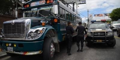 ataque armado contra bus en la calzada Roosevelt