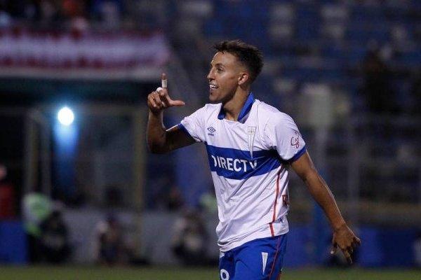 Diego Buonanotte podría ser titular ante Unión Española en San Carlos de Apoquindo / Foto: Agencia UNO