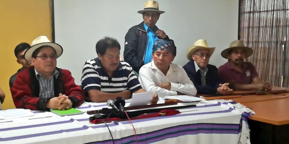 """Autoridades indígenas ancestrales califican como """"cortina de humo"""" la citación del PDH"""