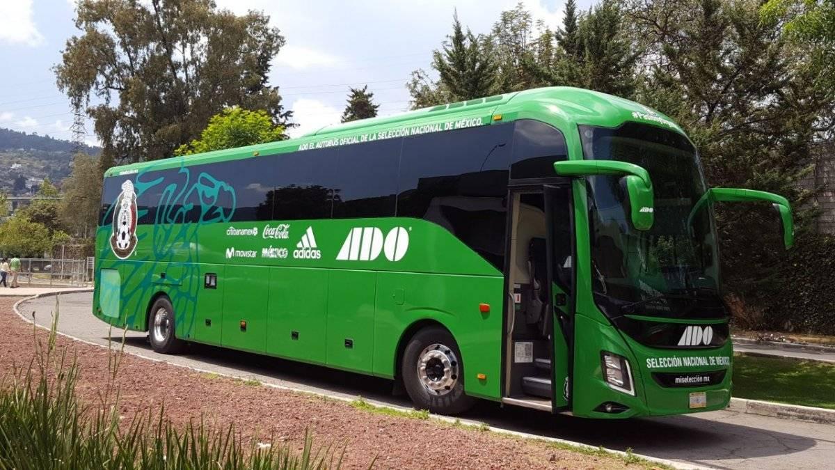 Esperan que el camión del Tricolor traiga buena suerte a México en el Mundial |KARINA BOBADILLA