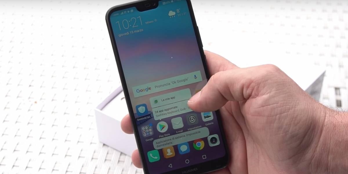 Aparecen los primeros unboxing del Huawei P20 Lite