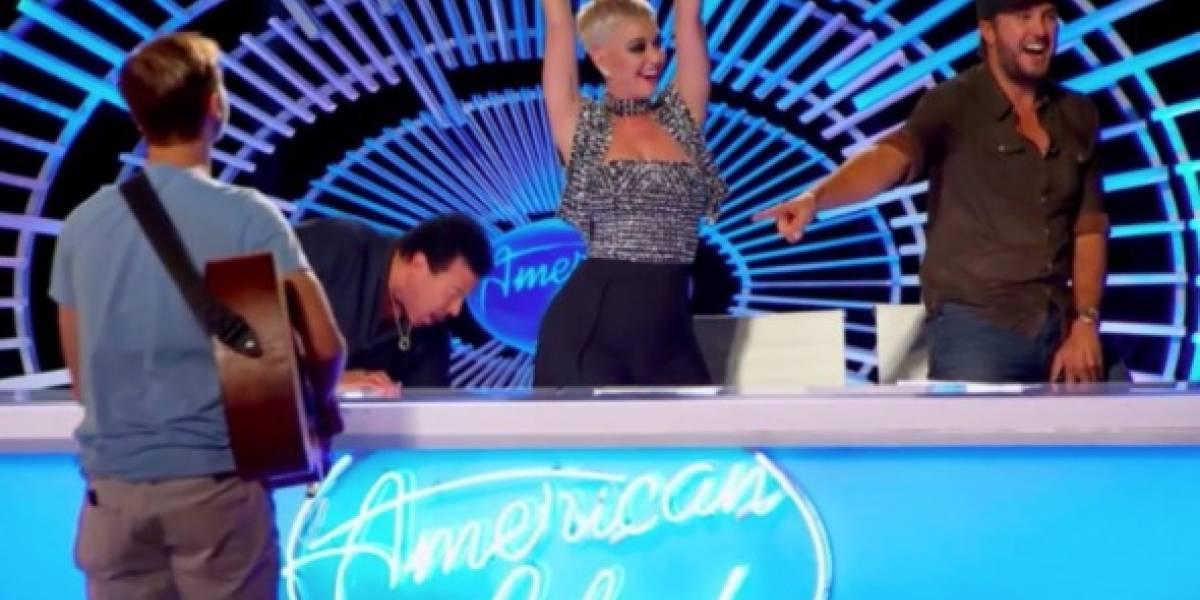 Katy Perry se conmovió hasta las lágrimas con participante de