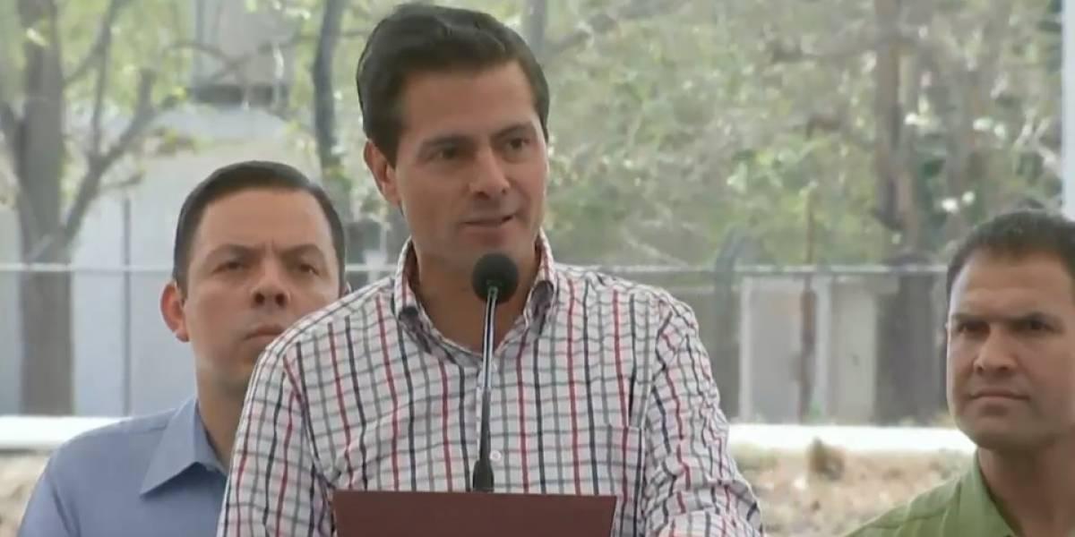 Llama Peña Nieto a mantener el rumbo del país con unidad