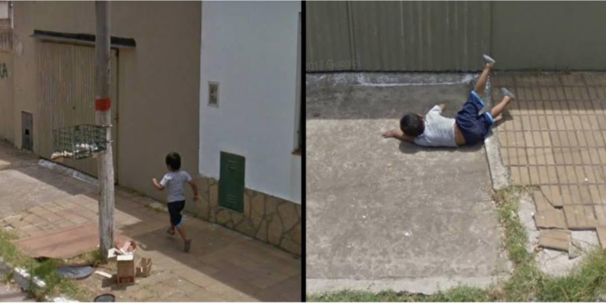 Google Maps: La verdadera historia del niño que se cae y es viral