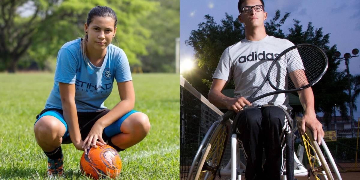 A través del deporte, dos jóvenes con discapacidad regalan lecciones de vida