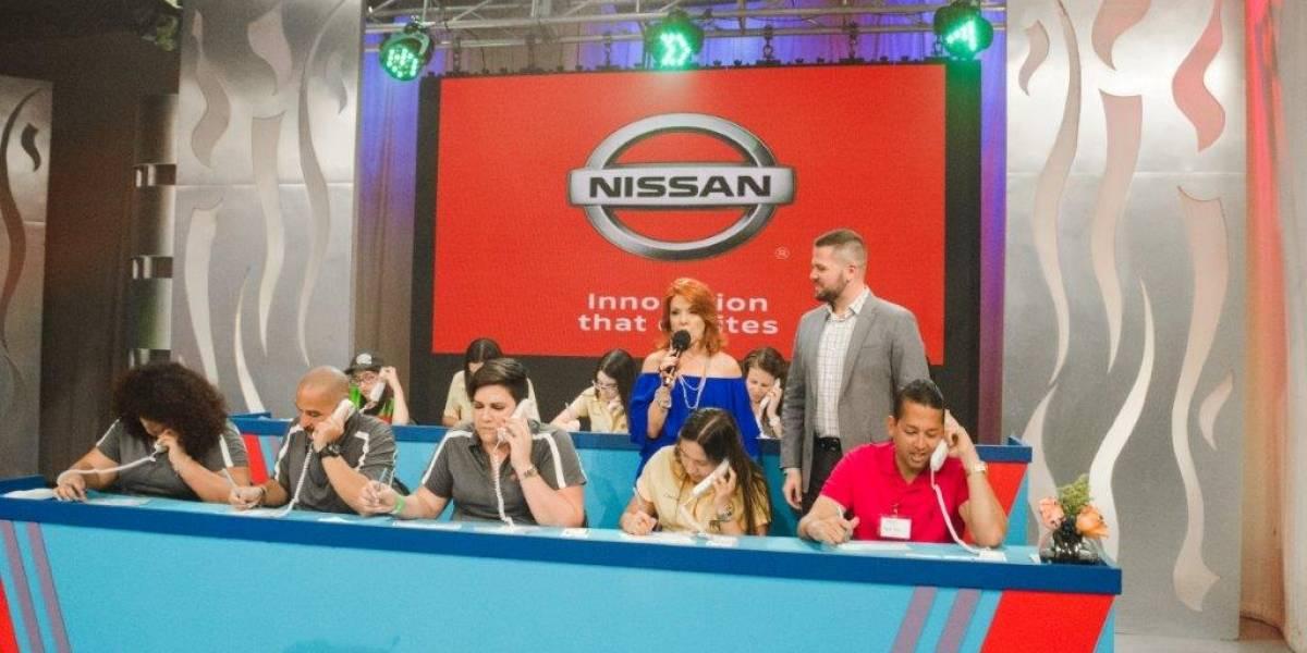 Nissan participó del Telemaratón MDA 2018