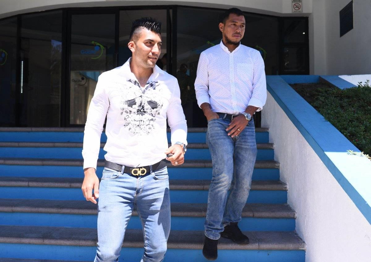 Cristian Noriega y Mario Castellanos
