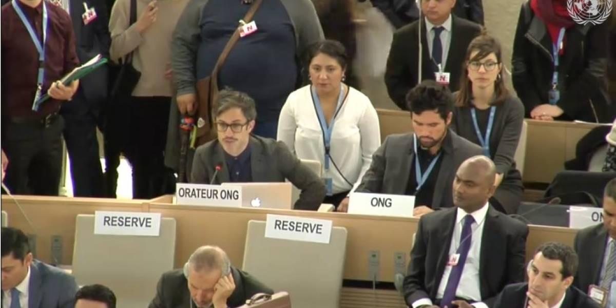 Gael García Bernal denuncia la ONU normalización de la violencia en México