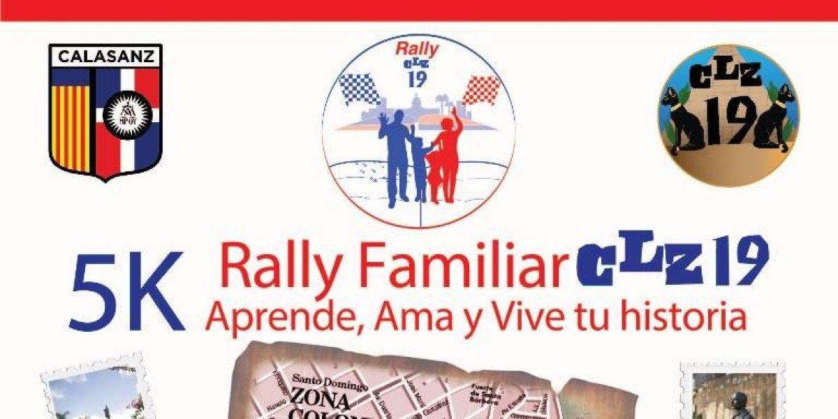 Colegio Calasanz realizará rally familiar 'Aprende, Ama y Vive tu historia'