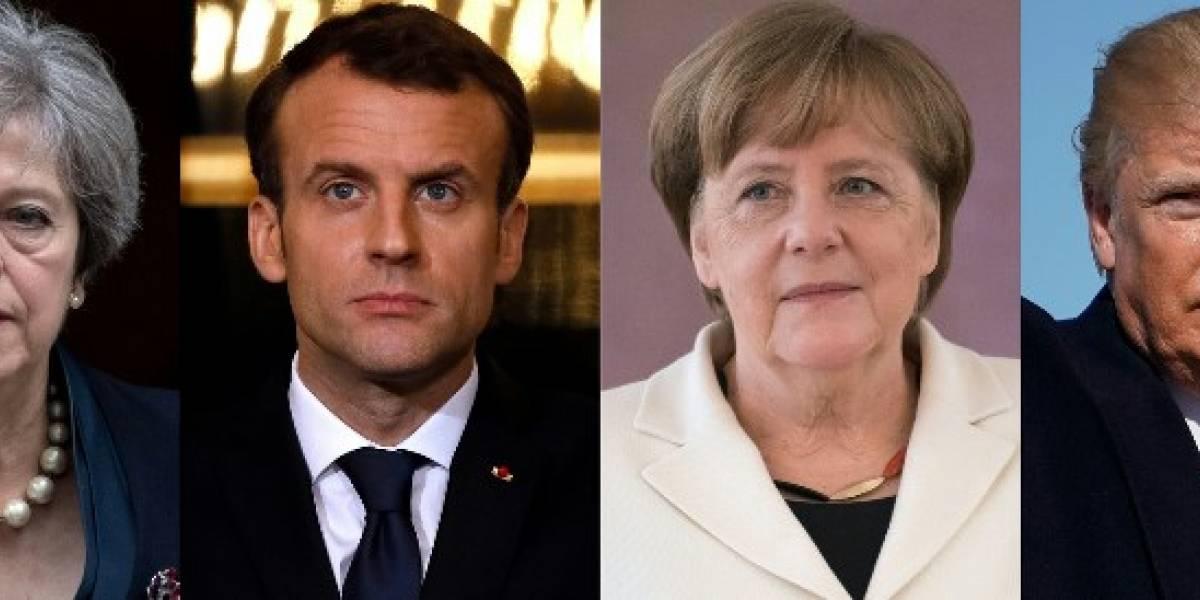Estados Unidos, Francia y Alemania culpan a Rusia por ataque a ex espía