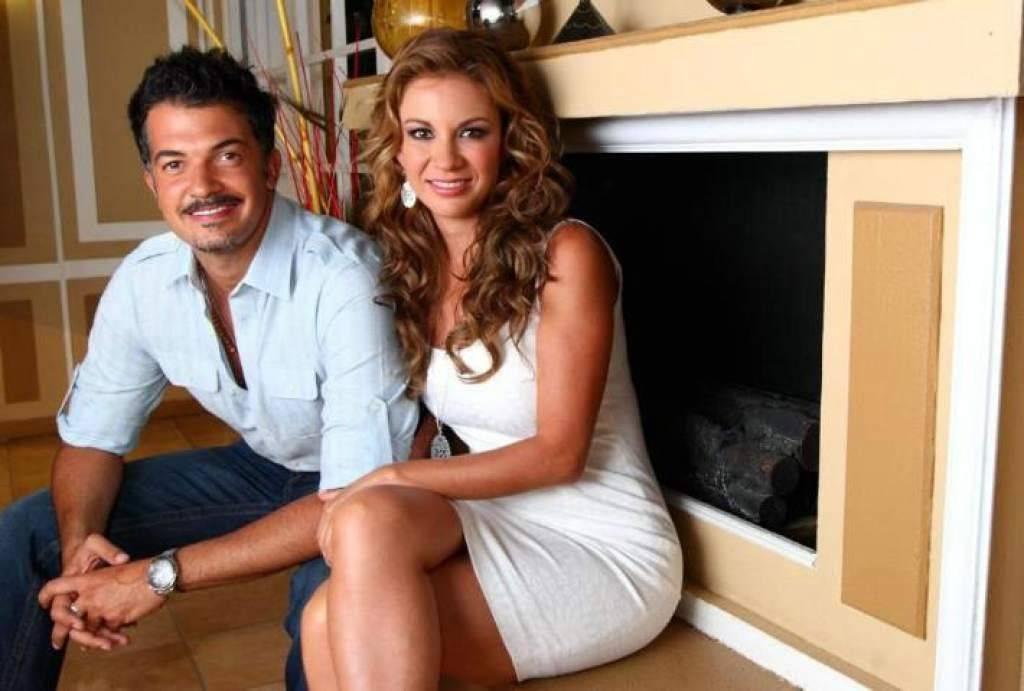 Ingrid con Fernando del Solar