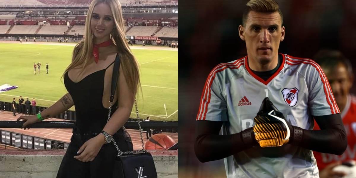 Atrevida frase de Daniela Rendón para Franco Armani