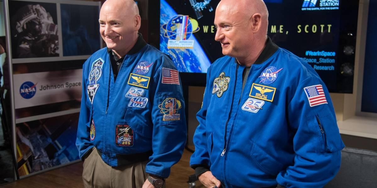 Estos gemelos ya no son idénticos después de un año en el espacio